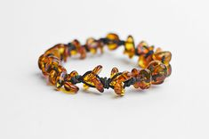 Amber bracelet baltic amber jewelry by MELISSAaccessories on Etsy