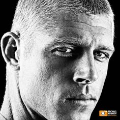 """Mick Fanning - Surfer  """"Michael Eugene """"Mick"""" Fanning, nicknamed """"White Lightning"""", is an Australian professional surfer and triple world champion. Fanning won the 2007, 2009 and 2013 ASP World Tour."""" Photography by Michael Kennedy - we had literally a minute to shoot this. The secret to great portraits of super busy people is preparation, never of steel and working well under pressure."""