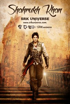 We leave to you all to caption this amazing edit of our hero SRK's picture.