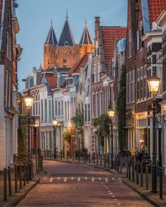 Holland, Places To Travel, Places To Go, Travel Destinations, Haarlem Netherlands, Dutch House, European Vacation, Night City, City Photography