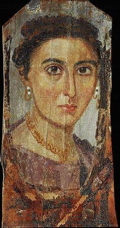 A Lady, er Rubayat, AD 117-138 (Wien, Kunsthistorisches Museum, X 297)