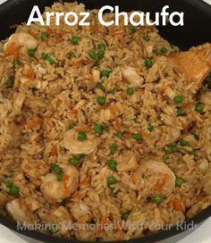 Authentic Arroz Chaufa - Peruvian Fried Rice {Peruvian Food} - Making Memories With Your Kids, ,