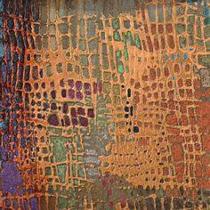 Artwork Title - Counter Glow I C   Artist Name - Douglas   Size - 16x16x1.5 Quantity - 2 Pieces