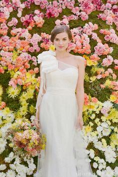 floral backdrop via @shopruche