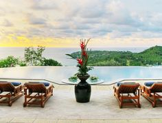 Indulge your senses in the tranquility of Villa Rak Tawan (Surin Hill, Phuket) one of #Phuket's most luxurious, ultra-private estates nestled on the top of the island's chic Surin Beach hillside, unhindered views over the #Andaman sea.