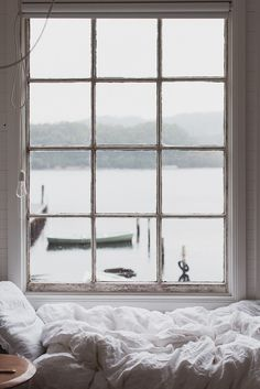 a beautiful window and a perfect view