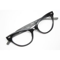 Vintage cat eye glasses black victory cateye New Old Stock found on Polyvore
