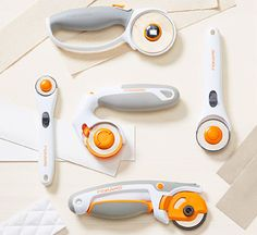 Rotary Fabric Cutters, Rotary Blades & Circle Cutters   Fiskars