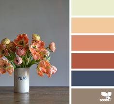 { flora palette } image via: @grainandfeather