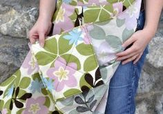 You won't believe how nifty this project is. The name says it all - the Pleated Apron with Built in Hot Pads is really useful. It's no ordinary apron because with this cool sewing project, you won't be searching for hot pads!