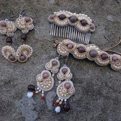 Jadwiga jewelry soutache set