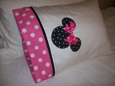 Custom Boutique  Minnie Mouse  Pink & White Polka by AnnMargrock, $21.99