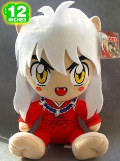 """Japanese Anime INUYASHA Plush Doll 12"""" FREE SHIPPING"""