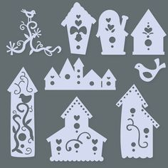 Birds and Birdhouses SVG Collection - $2.99 : SVG Files for Sure Cuts A Lot - SVGCuts.com