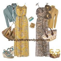Casual Summer Hijab Clothing | justfortrendygirls Love love love these dresses!