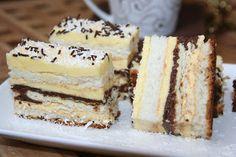 Romanian Desserts, Romanian Food, Cream Cake, Tiramisu, Cake Recipes, Biscuits, Sweet Treats, Cheesecake, Food And Drink