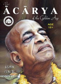 The Ācārya of the Golden Age! The first-ever Pencil Shading book in ISKCON…