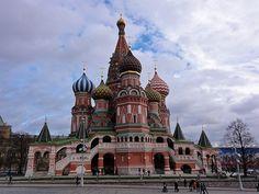 Catedral de San Basilio, en Moscú.