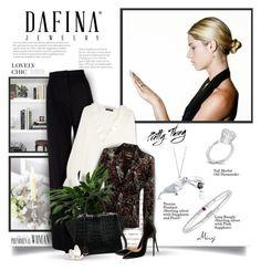 """""""Dafina Jewelry #6"""" by thewondersoffashion ❤ liked on Polyvore featuring MaxMara, Etro, Roberto Cavalli, Fendi, Christian Louboutin, christianlouboutin, fendi and dafinajewelry"""