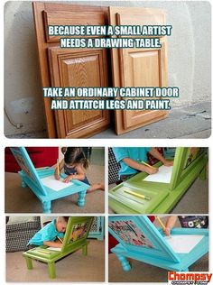 fun drawing tables for kids craft ideas