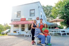 """A warm slice of home at Woodruff Store Cafe & Pie Shop in Monroe, VA.  In Sept 2013, Southern Living featured them for """"the best pie ever.""""  Woodruff's is a family store that has been in the family for generations."""