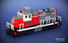BNLC | Flickr - Photo Sharing! Lego City Train, Lego Trains, Toys For Boys, Boy Toys, Lego Plane, Lego Kits, Lego Ship, Lego Boards, Train Engines