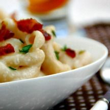 Mac and Cheese - Queso Mac and Cheese with Bacon Recipe