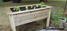 Comment fabriquer un potager surélevé   Outdoor Projects, Outdoor Decor, Home Decor, Gardening, Gardens, Plants, Balcony, Decoration Home, Room Decor