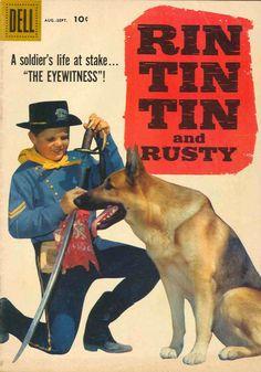 Western Comics Chejov: Rin Tin Tin and rusty dell Nº 026
