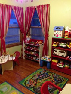 Daycare space in a small room!