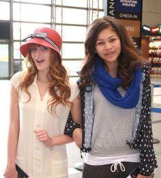 Bella Thorne (Left) Zendaya (Right) | Chloë Grace Moretz | Favorite Two Besties | #ChloeGraceMoretz #BellaThorne #Zendaya