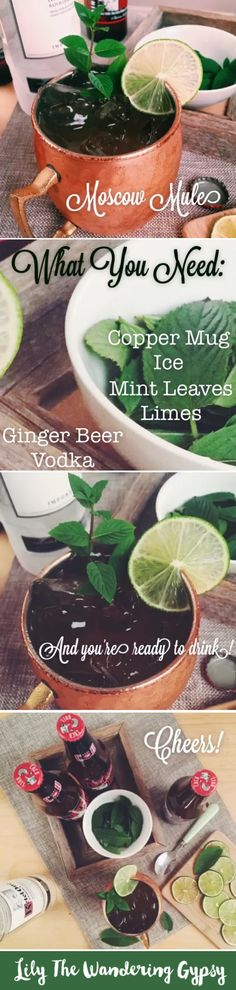 How To Make A Moscow Mule - video instructions! #drink #recipe