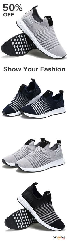 US$31.06+Free shipping. Men Shoes, Casual Flats, Sports Shoes, Mesh, Breathable, Slip-On, Color: Black, Grey, Blue.