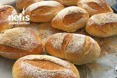 Ev Yapımı Lahmacun – Nefis Yemek Tarifleri Bread Baking, Hamburger, Bakery, Rolls, Food And Drink, Handmade, Breads, January, Recipe