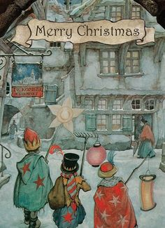 Christmas Scenes, Cozy Christmas, Vintage Christmas, Christmas Time, Christmas Ideas, Susan Wheeler, Anton Pieck, New Year Wishes, Dutch Artists