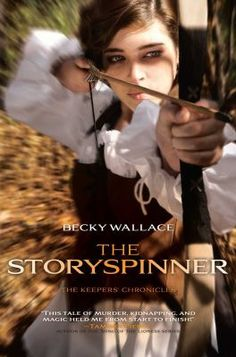 The storyspinner - The Keepers, a race of people with magical abilities, are seeking a supposedly-dead princess to place her on the throne and end political turmoil, but girls who look like the princess are being murdered and Johanna Von Arlo, forced to work for Lord Rafael DeSilva after her father's suspicious death, is a dead-ringer.