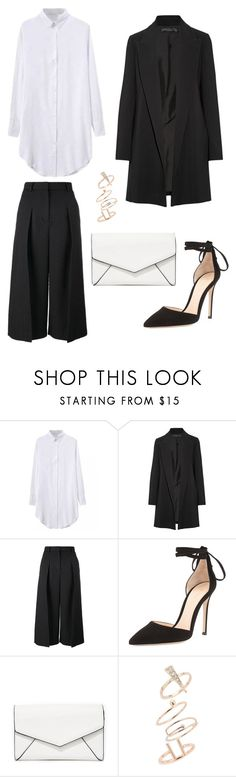 """""""Minimalist 1"""" by ryueunah ❤ liked on Polyvore featuring The Row, Erdem, Gianvito Rossi, LULUS and Topshop"""