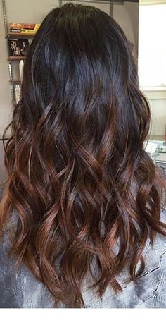Long Wavy Ash-Brown Balayage - 20 Light Brown Hair Color Ideas for Your New Look - The Trending Hairstyle Brown Ombre Hair, Brown Hair Balayage, Brown Hair With Highlights, Brown Blonde Hair, Ombre Hair Color, Light Brown Hair, Hair Color Balayage, Dark Hair, Carmel Highlights