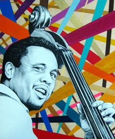 Charles Mingus by Ian Johnson