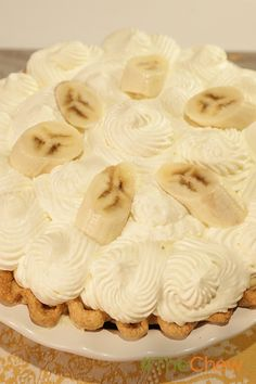 Buddy Valastro's Banana Cream Pie will have you coming back for more!