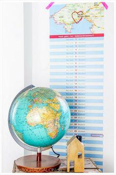 Mallorca Countdown Kalender, mein erstes Freebie für Euch! by 180° Salon