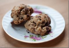 Oatmeal Cookies with Chocolate Chips, Cranberries, and Pecans