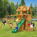 Gorilla Playsets Cafe Climber Playset - Do It YourselfCC  1499 1 swing