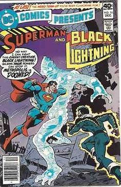 DC Comics Presents #16! Superman and Black Lightning!
