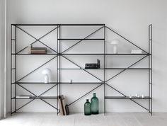 R.I.G. Shelf System –  Mau Studio. Designer: Mikal Harrsen and Adam Hall