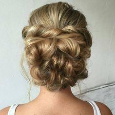 """""""Bridal Hair via @heatherchapmanhair """""""