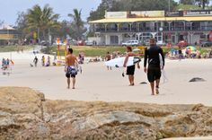 Surfers come from everywhere when they hear the surf is breaking at Rainbow Bay and Snapper Rocks Australian Beach, Travel Album, Paradise Found, Surfers, Big Island, Beach Bum, Gold Coast, Snorkeling, Beautiful Beaches