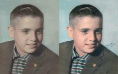 Photo repair done right. Ever wondered if it were possible to repair damaged photos? We can make it happen http://www.fixingphotos.com #photorestoration #giftideas