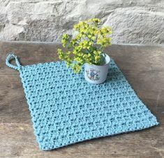 Plaid Crochet, Crochet Diy, Crochet Potholders, Crochet Motifs, Pot Holders, Diy And Crafts, Paracord, Xmas, Pure Products