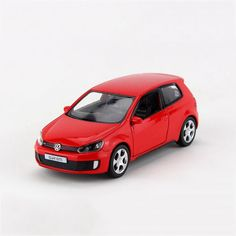 Pull back car 1/36 VW Golf GTI MK6 alloy models model car Diecast Metal Pull Back Car Toy For Gift Collection